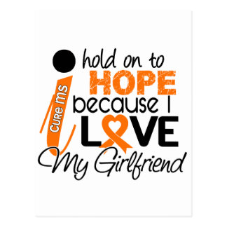 Hope For My Girlfriend Multiple Sclerosis MS Postcard
