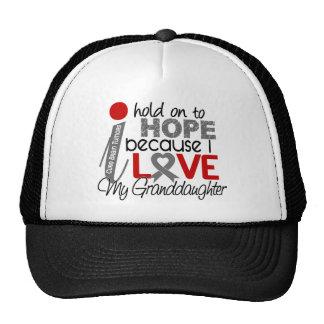 Hope For My Granddaughter Brain Tumor Trucker Hat