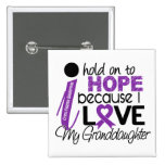 Hope For My Granddaughter Cystic Fibrosis Pinback Button