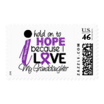 Hope For My Granddaughter Cystic Fibrosis Stamp