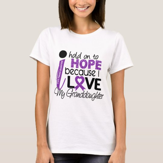 Hope For My Granddaughter Cystic Fibrosis T-Shirt