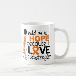 Hope For My Granddaughter Leukemia Coffee Mug