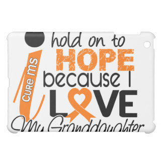 Hope For My Granddaughter Multiple Sclerosis MS iPad Mini Covers