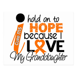 Hope For My Granddaughter Multiple Sclerosis MS Postcard