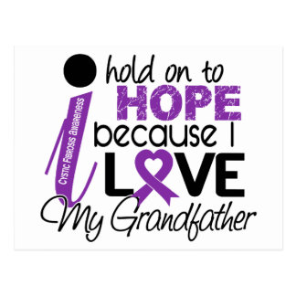 Hope For My Grandfather Cystic Fibrosis Postcard