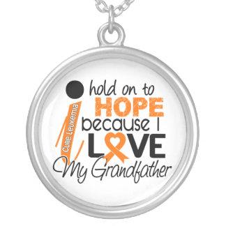 Hope For My Grandfather Leukemia Custom Jewelry