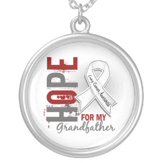 Hope For My Grandfather Lung Cancer Jewelry