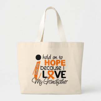 Hope For My Grandfather MS Multiple Sclerosis Tote Bag