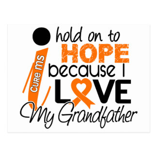 Hope For My Grandfather MS Multiple Sclerosis Postcard