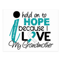 Hope For My Grandmother Cervical Cancer Postcard
