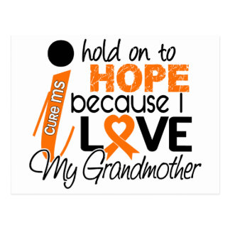 Hope For My Grandmother MS Multiple Sclerosis Postcard