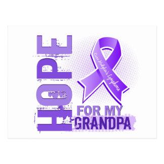 Hope For My Grandpa Hodgkins Lymphoma Postcard