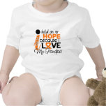 Hope For My Grandpa Multiple Sclerosis MS T-shirt