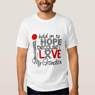 Hope For My Grandson Brain Tumor Tee Shirt