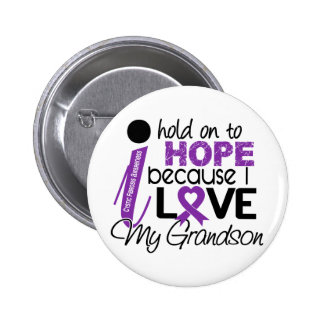 Hope For My Grandson Cystic Fibrosis Pins