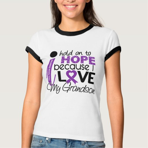 Hope For My Grandson Cystic Fibrosis Shirt