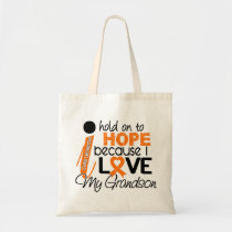 Hope For My Grandson Leukemia Tote Bag