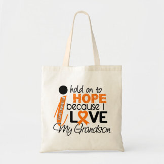 Hope For My Grandson Leukemia Tote Bag