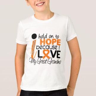 Hope For My Great Grandma Leukemia T-Shirt