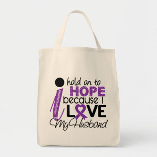 Hope For My Husband Cystic Fibrosis Tote Bag