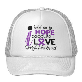 Hope For My Husband Cystic Fibrosis Mesh Hats