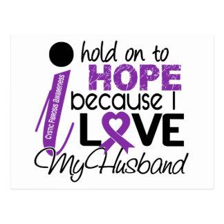 Hope For My Husband Cystic Fibrosis Postcard