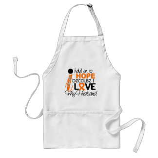 Hope For My Husband Multiple Sclerosis MS Adult Apron