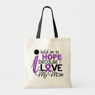 Hope For My Mom Cystic Fibrosis Tote Bags