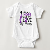 Hope For My Mommy Cystic Fibrosis Baby Bodysuit