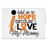 Hope For My Mommy Multiple Sclerosis MS Greeting Card