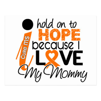 Hope For My Mommy Multiple Sclerosis MS Postcard