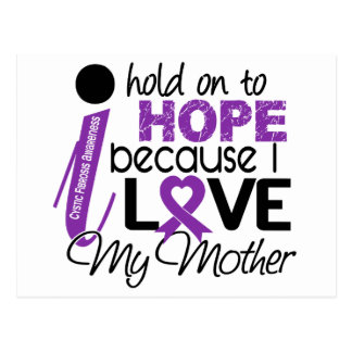 Hope For My Mother Cystic Fibrosis Postcard