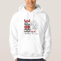 Hope For My Mother-In-Law Lung Cancer Hoodie