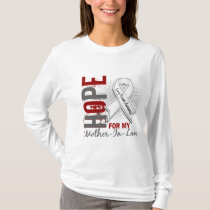 Hope For My Mother-In-Law Lung Cancer T-Shirt