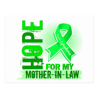 Hope For My Mother-In-Law Lymphoma Postcard