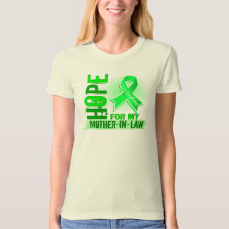 Hope For My Mother-In-Law Lymphoma T-shirt