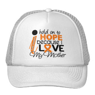 Hope For My Mother Leukemia Mesh Hats