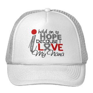 Hope For My Nana Brain Tumor Mesh Hat