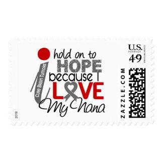 Hope For My Nana Brain Tumor Postage Stamp