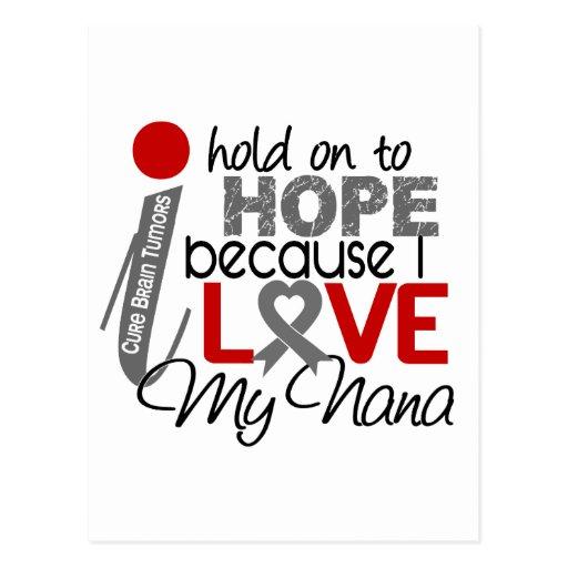Hope For My Nana Brain Tumor Post Card