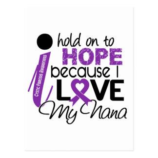 Hope For My Nana Cystic Fibrosis Postcard