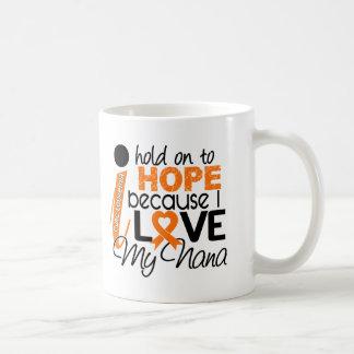 Hope For My Nana Leukemia Mugs