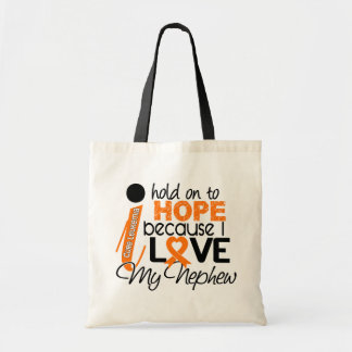 Hope For My Nephew Leukemia Tote Bag