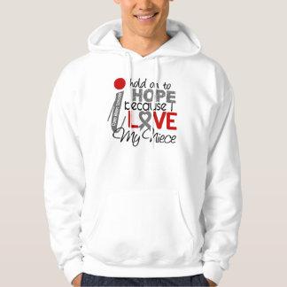 Hope For My Niece Brain Tumor Hoodie
