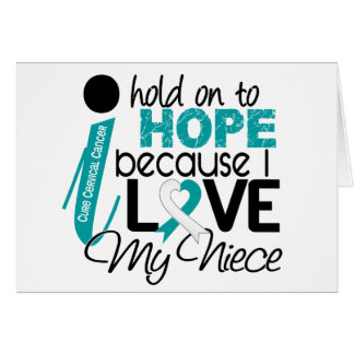 Hope For My Niece Cervical Cancer Card