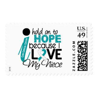Hope For My Niece Cervical Cancer Stamp