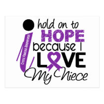 Hope For My Niece Cystic Fibrosis Postcard