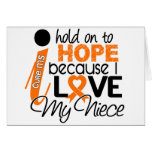 Hope For My Niece Multiple Sclerosis MS Greeting Cards