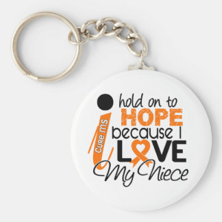 Hope For My Niece Multiple Sclerosis MS Keychain
