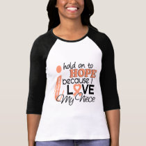 Hope For My Niece Uterine Cancer T-Shirt